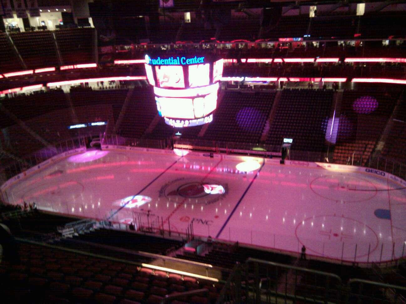 Prudential Center Section 231 Row 2 Seat 11