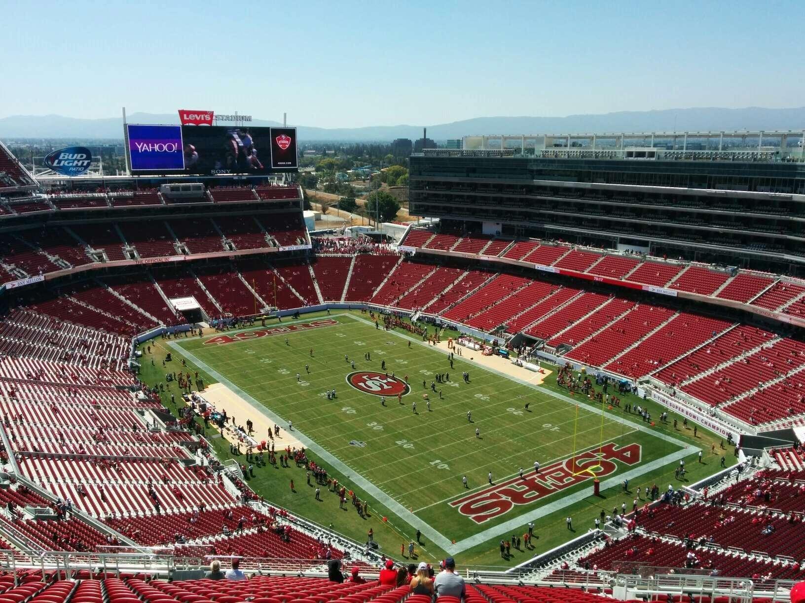 Levi S Stadium Section 403 Row 24 Seat 11 San Francisco