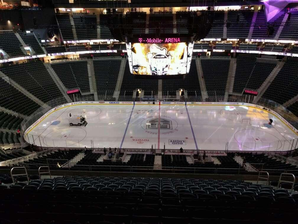 T-Mobile Arena Section 205 Row n Seat 12