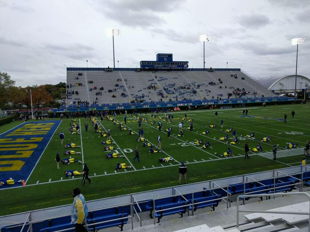 Delaware Stadium Section n Row j Seat 8