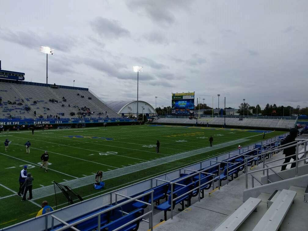 Delaware Stadium Section m Row d Seat 16