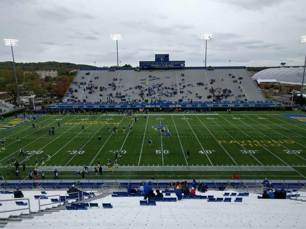 Delaware Stadium Section k Row mm Seat 21