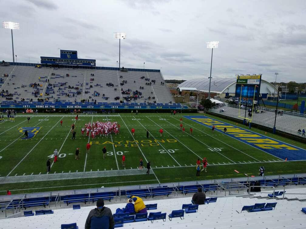 Delaware Stadium Section j Row y Seat 20