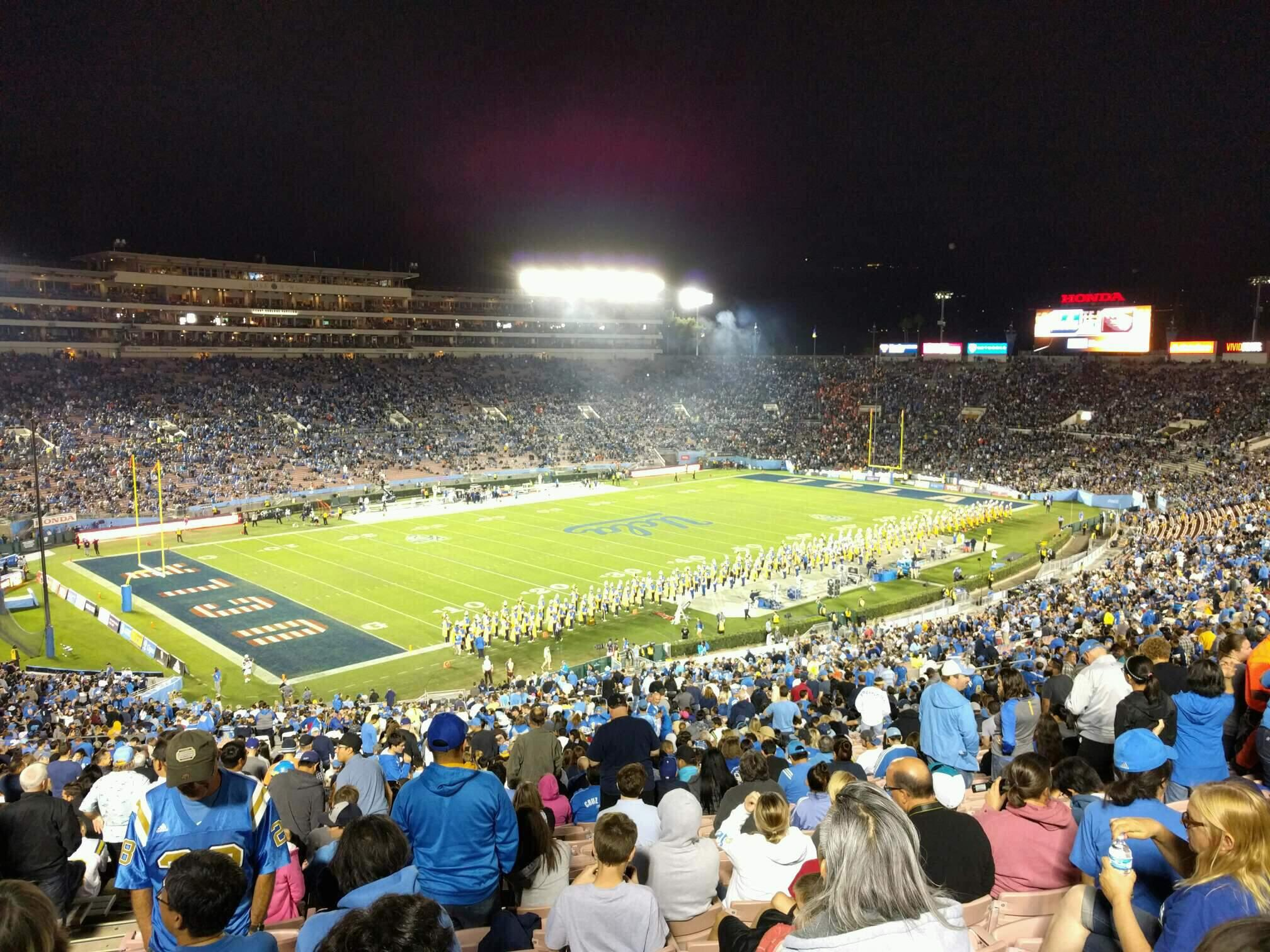 Rose Bowl Section 1-H Row 76 Seat 104