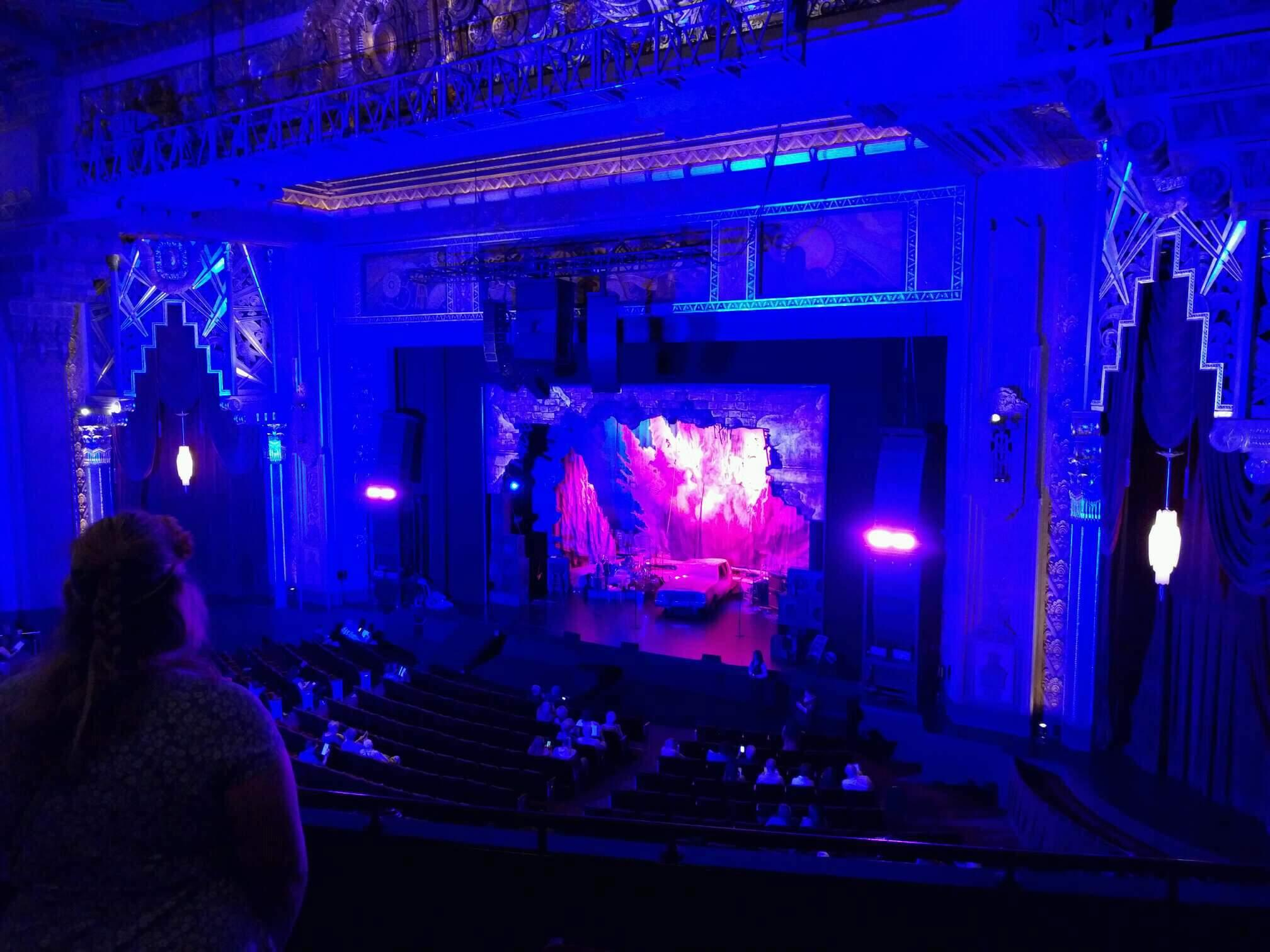 Hollywood Pantages Theatre Section Mezzanine R Row B Seat 10