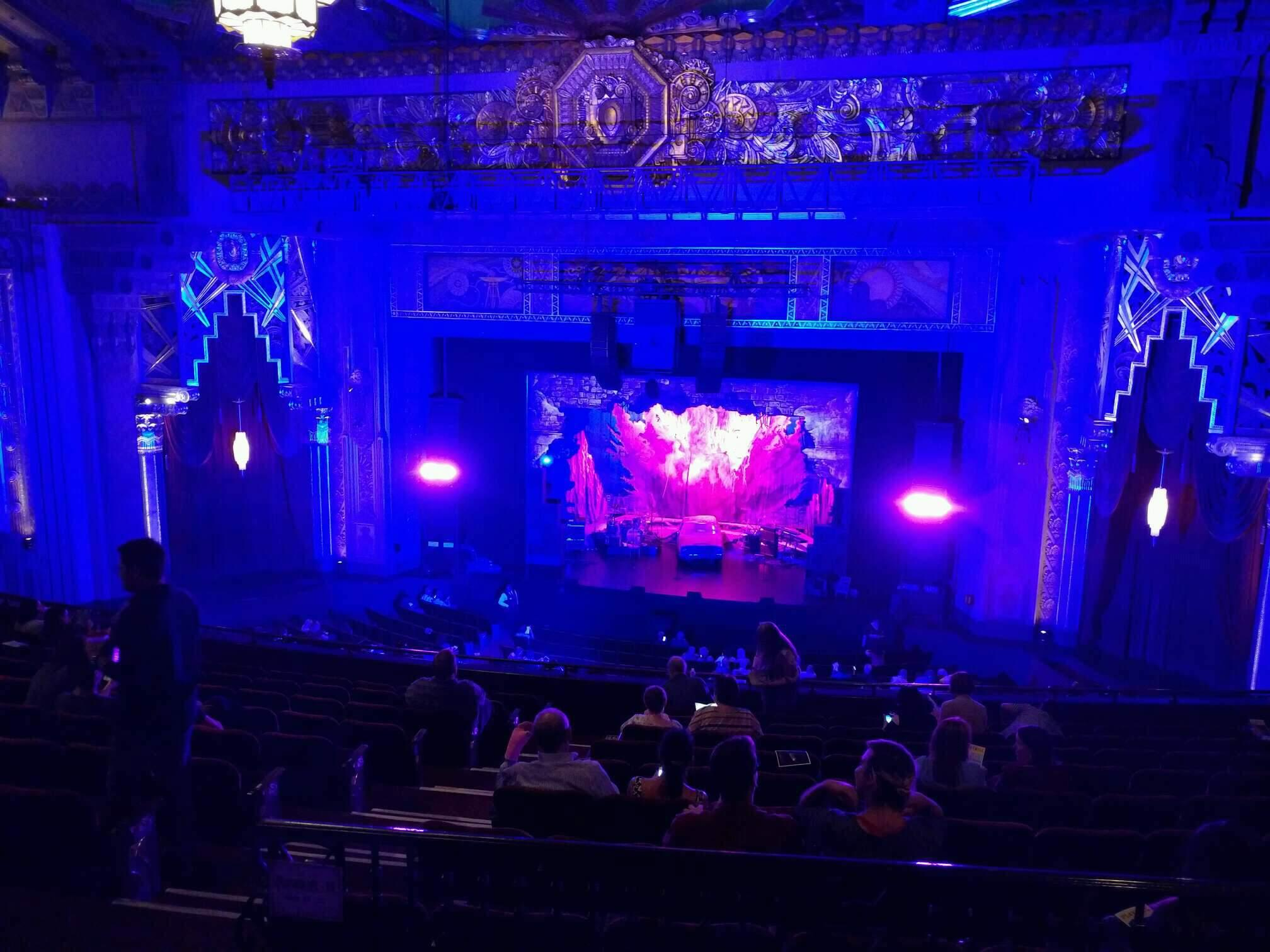 Hollywood Pantages Theatre Section Mezzanine RC Row k Seat 205