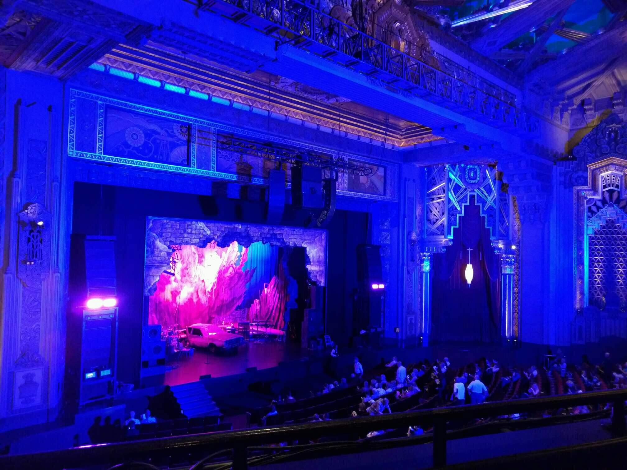 Hollywood Pantages Theatre Section Mezzanine L Row b Seat 9