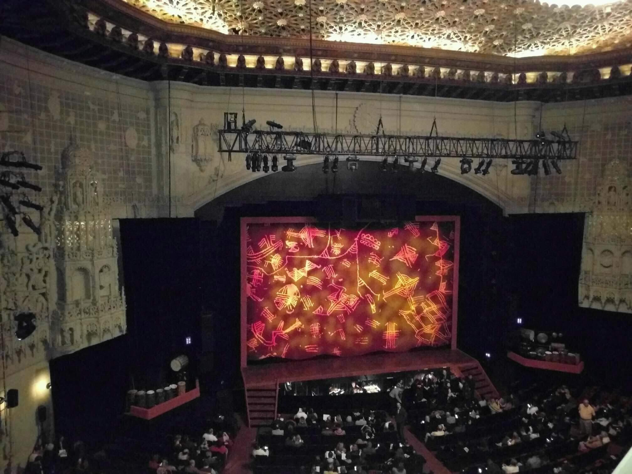Orpheum Theatre (San Francisco) Section Balcony LC Row a Seat 119