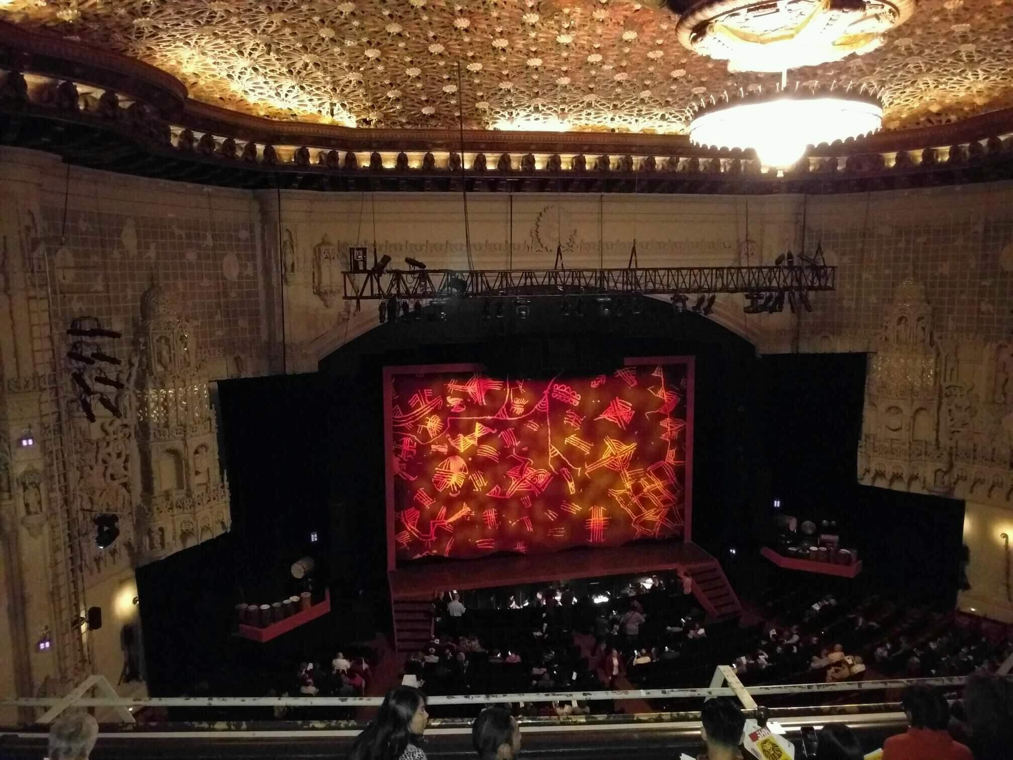 Orpheum Theatre (San Francisco) Section Balcony LC Row e Seat 113