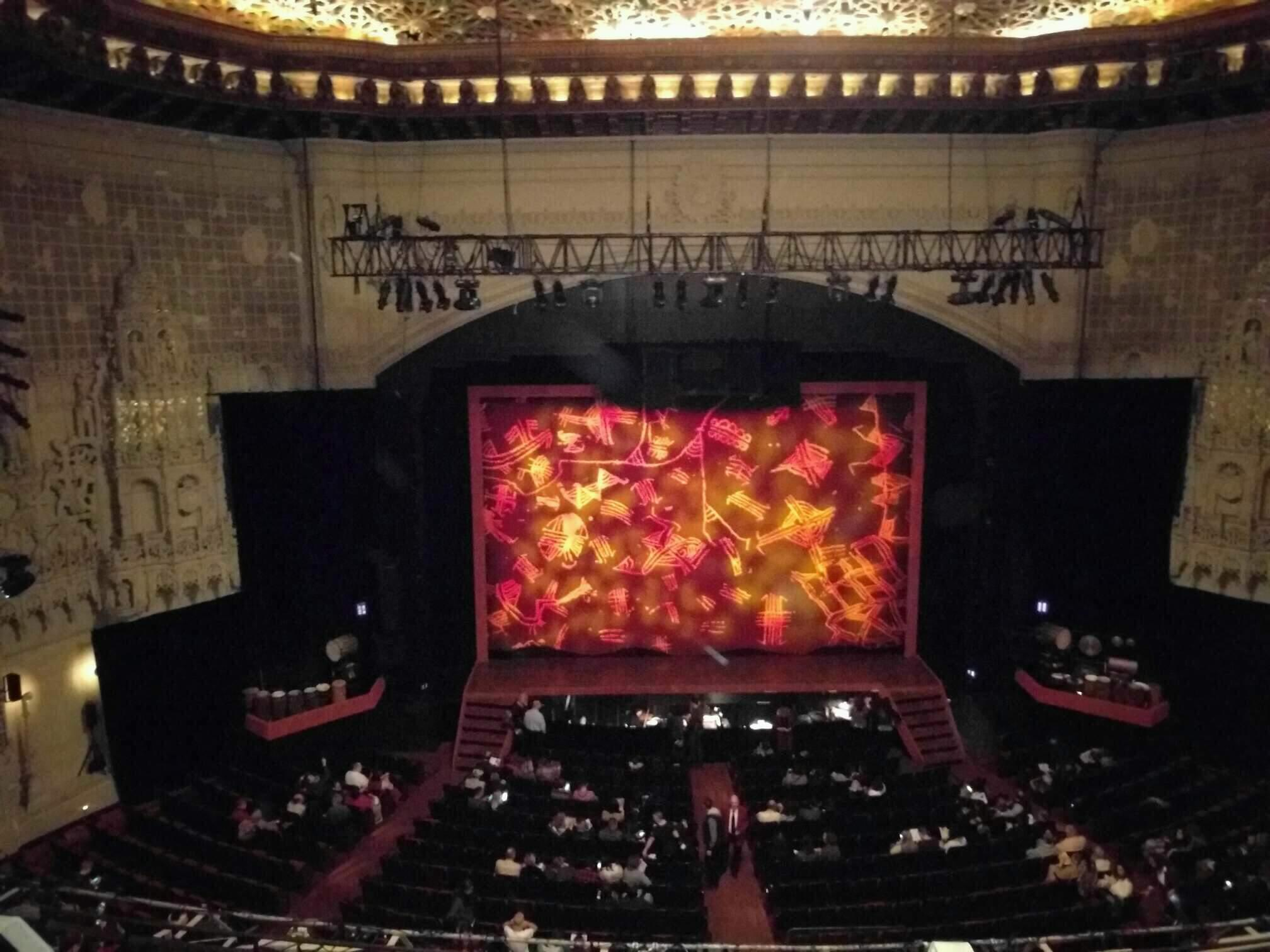 Orpheum Theatre (San Francisco) Section Balcony C Row b Seat 203