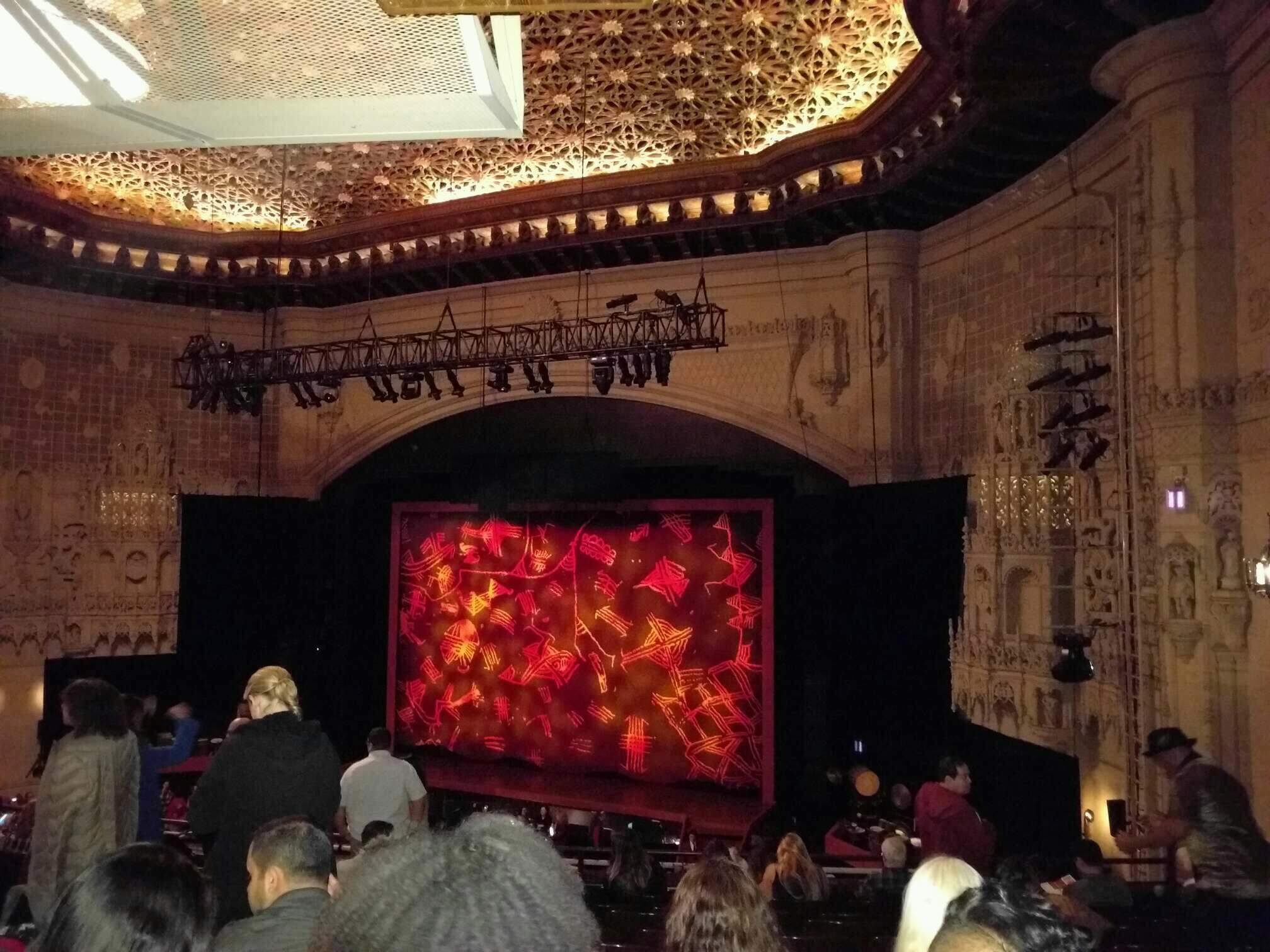 Orpheum Theatre (San Francisco) Section Mezzanine R Row l Seat 20