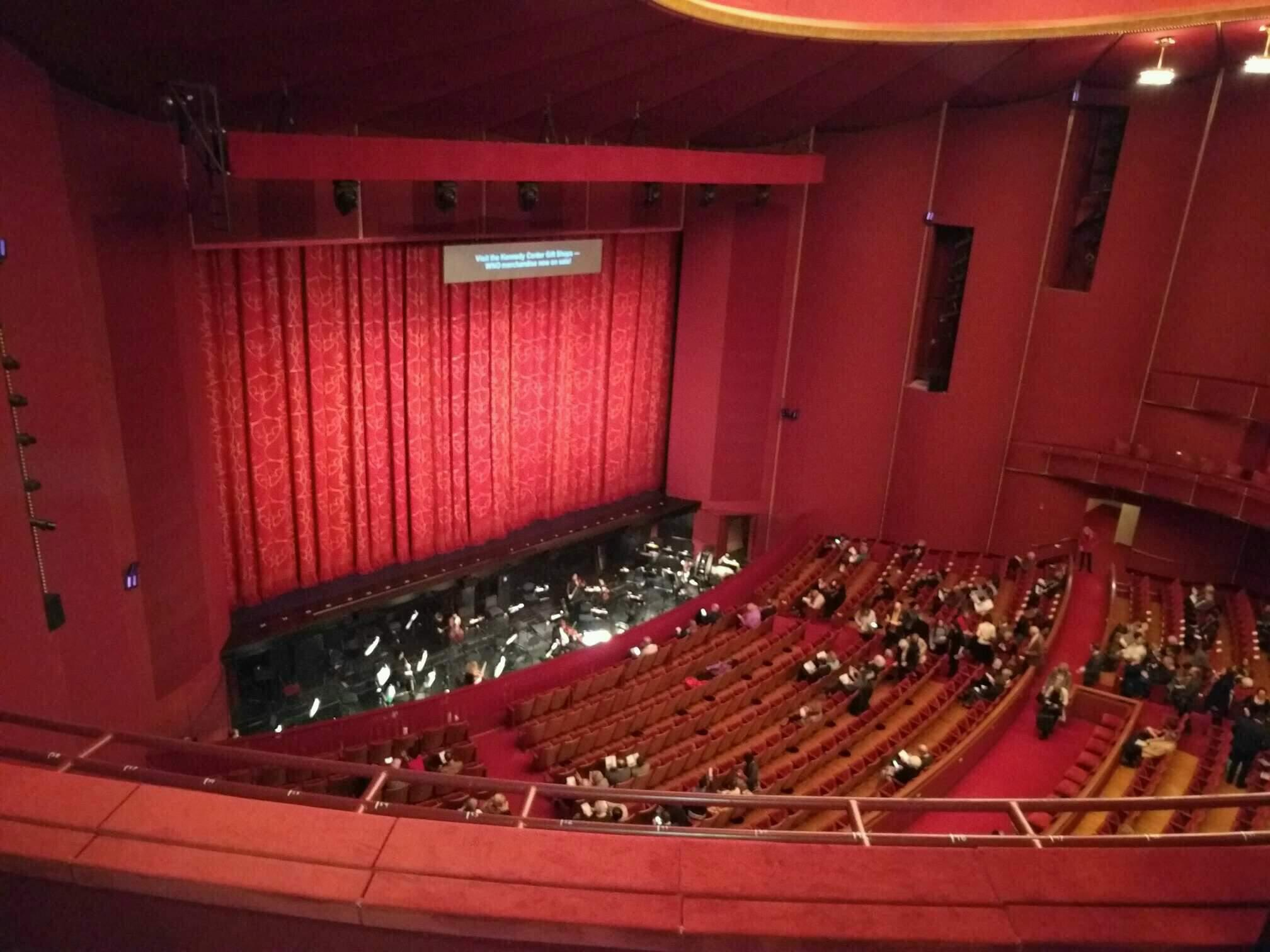 The Kennedy Center Opera House Section 2nd Tier Row c Seat 9