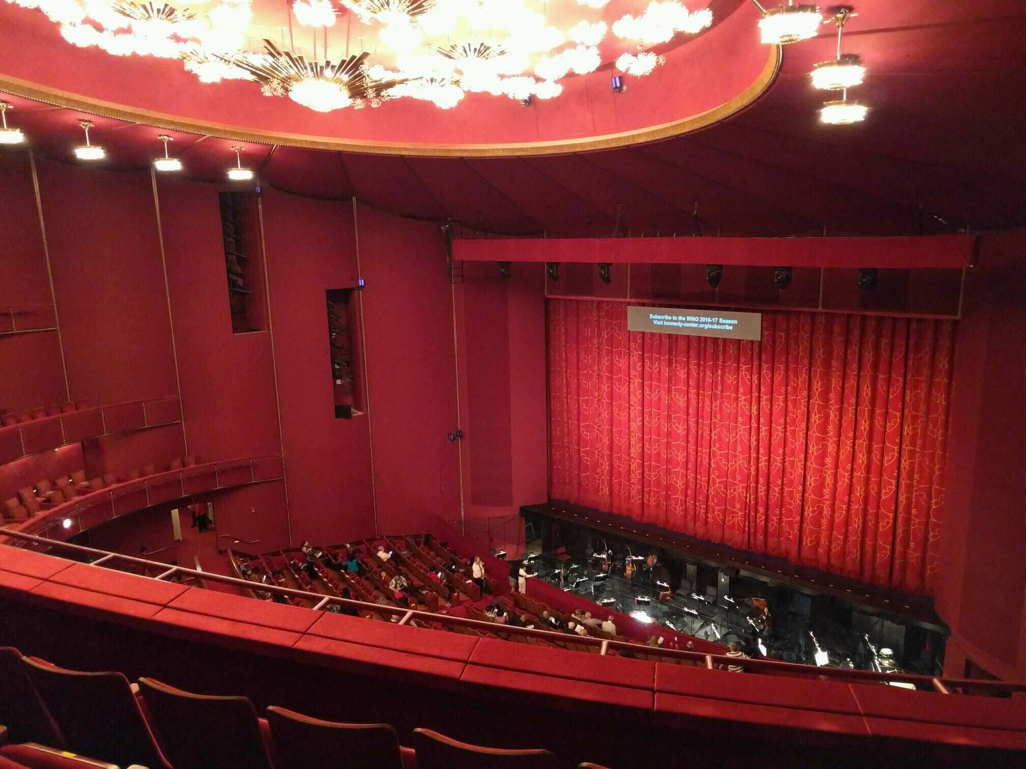 The Kennedy Center Opera House Section 2nd tier Row d Seat 132