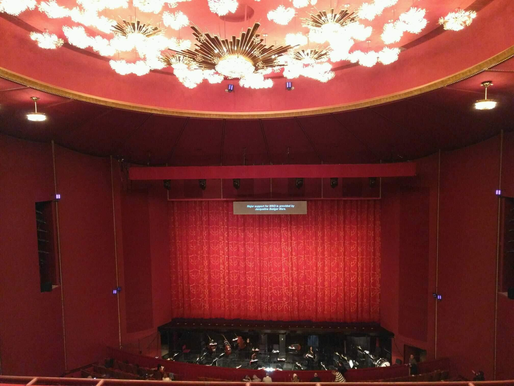 The Kennedy Center Opera House Section 2nd tier Row c Seat 205