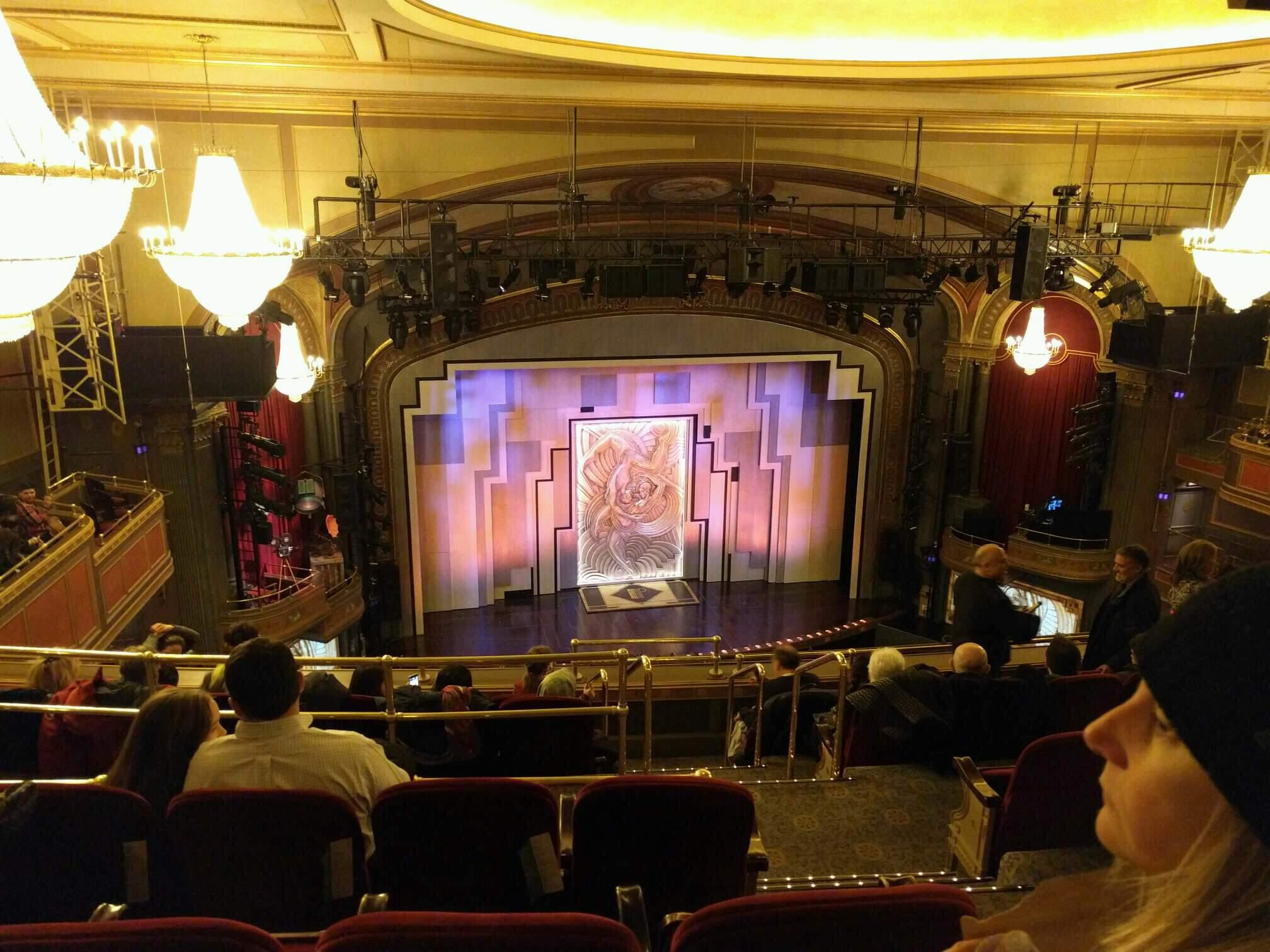 Lyric Theatre Section Balcony L Row G Seat 3