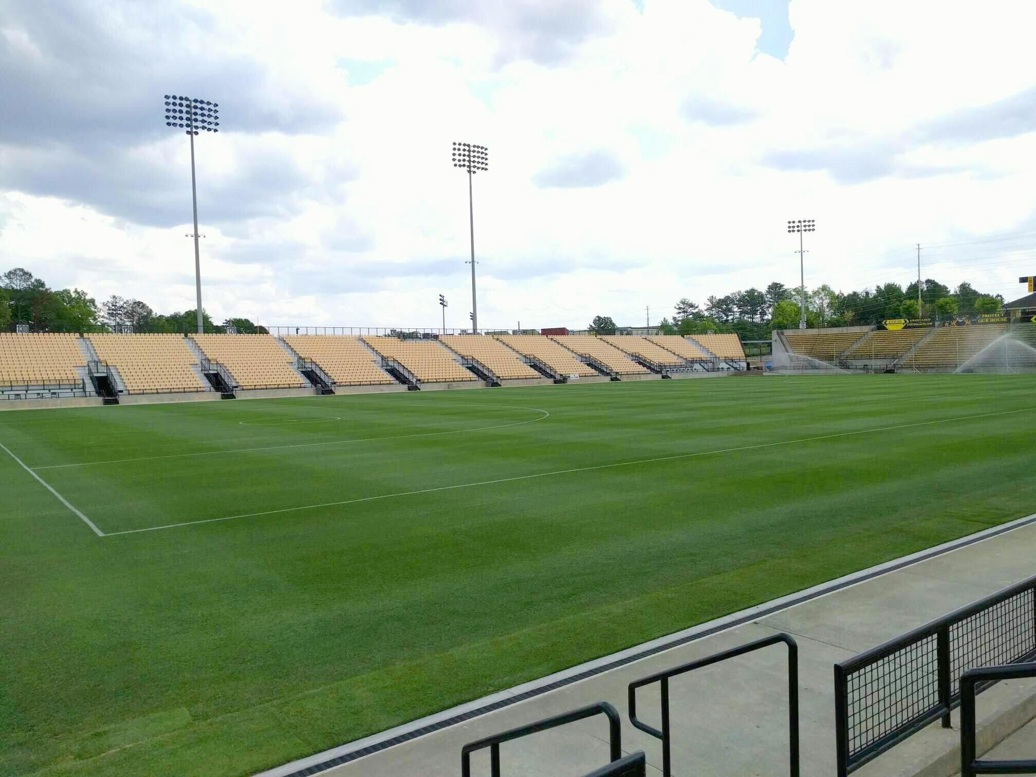 Fifth Third Bank Stadium Section 101 Row c Seat 4