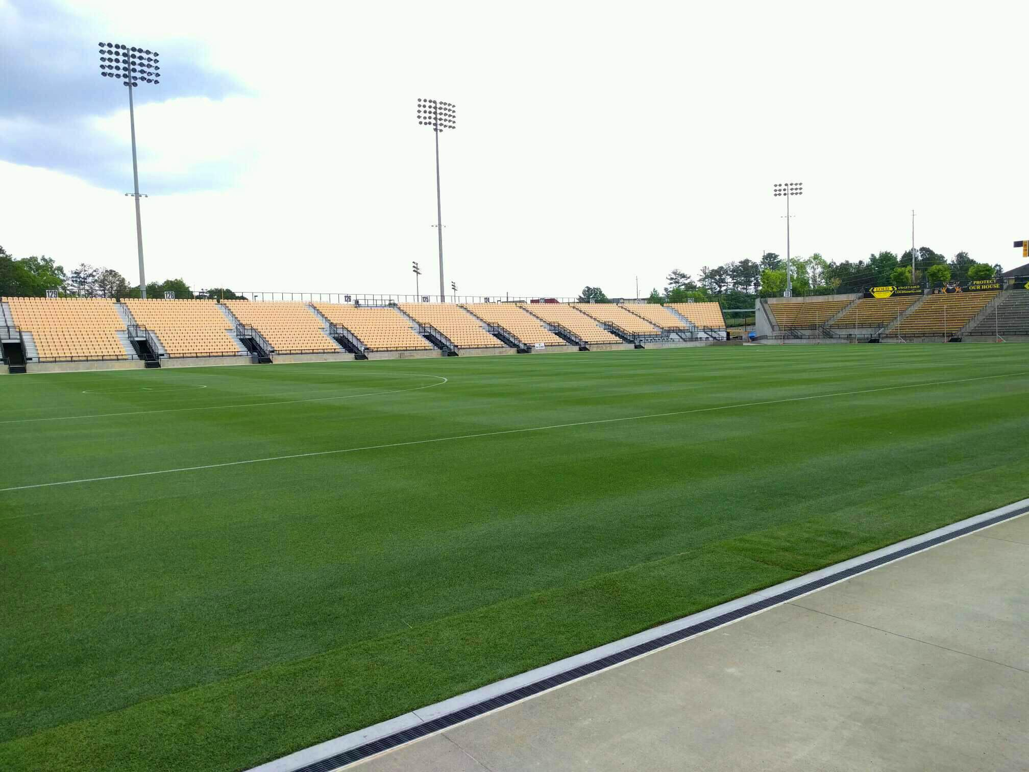 Fifth Third Bank Stadium Section 102 Row a Seat 10