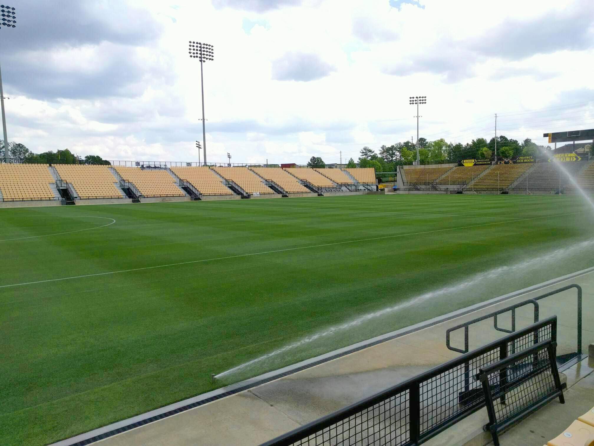 Fifth Third Bank Stadium Section 103 Row c Seat 10