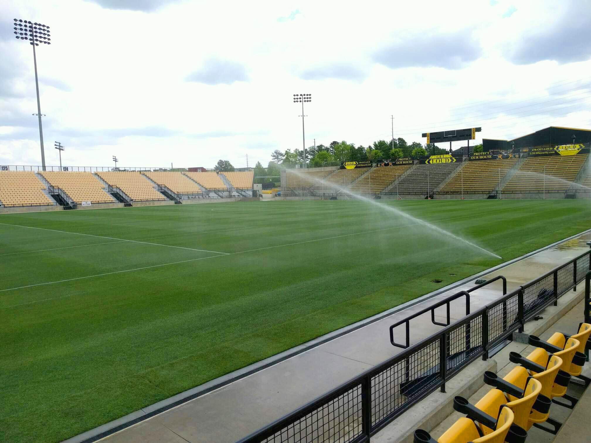 Fifth Third Bank Stadium Section 105 Row c Seat 9