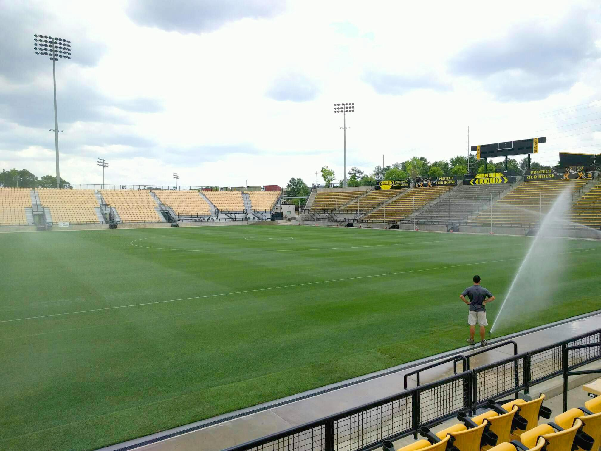Fifth Third Bank Stadium Section 107 Row e Seat 9