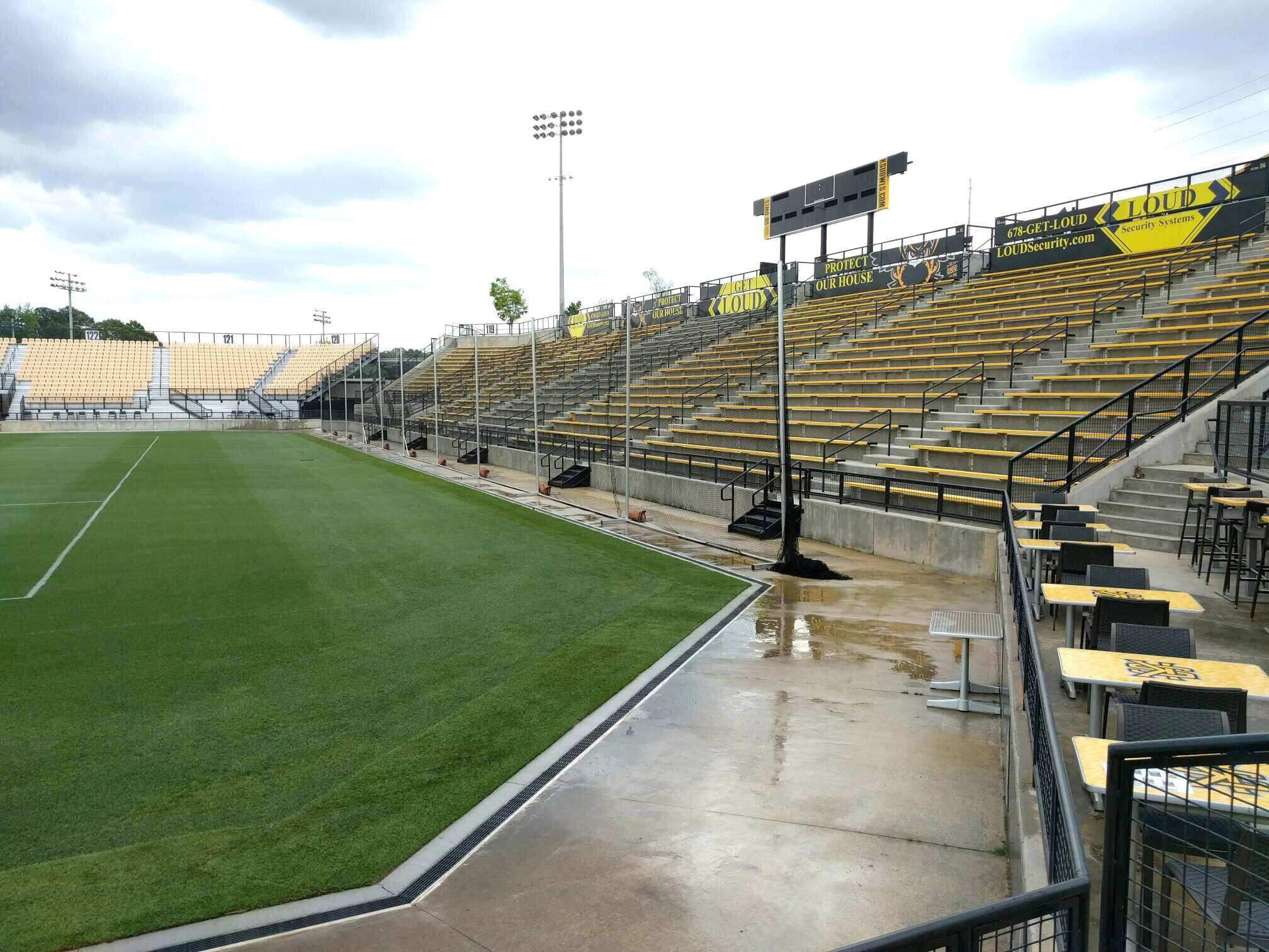 Fifth Third Bank Stadium Section 111 Row c Seat 4