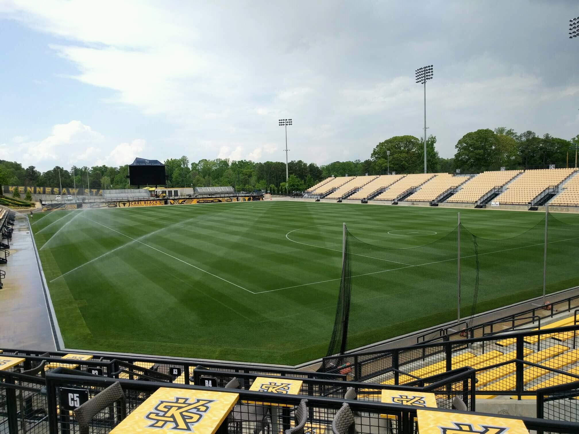 Fifth Third Bank Stadium Section d8