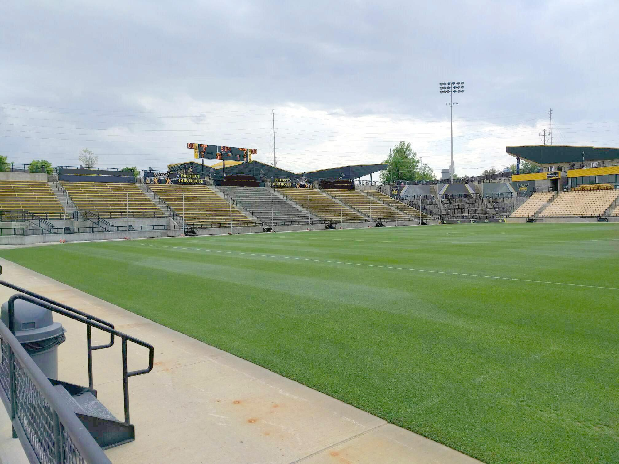 Fifth Third Bank Stadium Section 125 Row a Seat 7