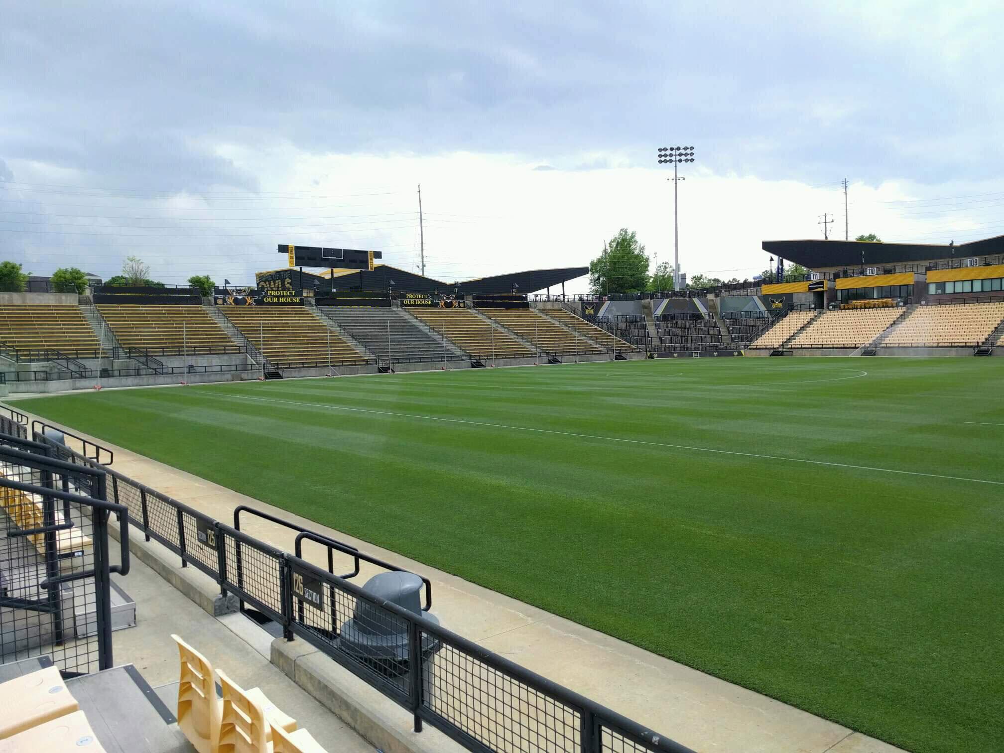 Fifth Third Bank Stadium Section 126 Row c Seat 8