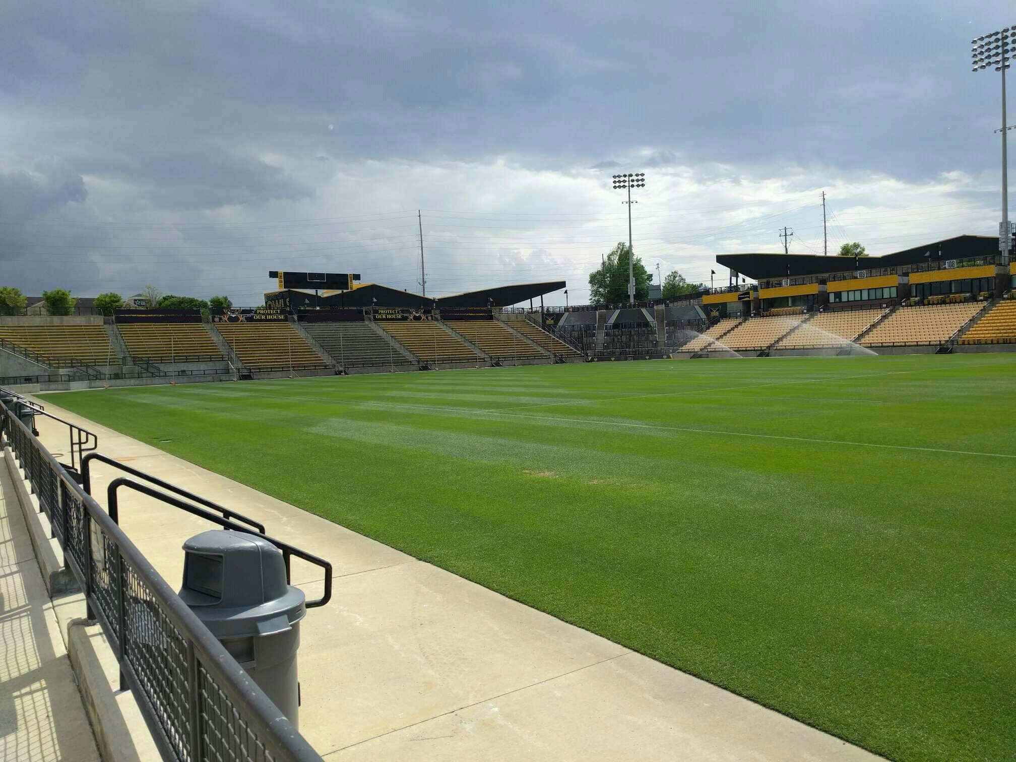 Fifth Third Bank Stadium Section 128 Row a Seat 7