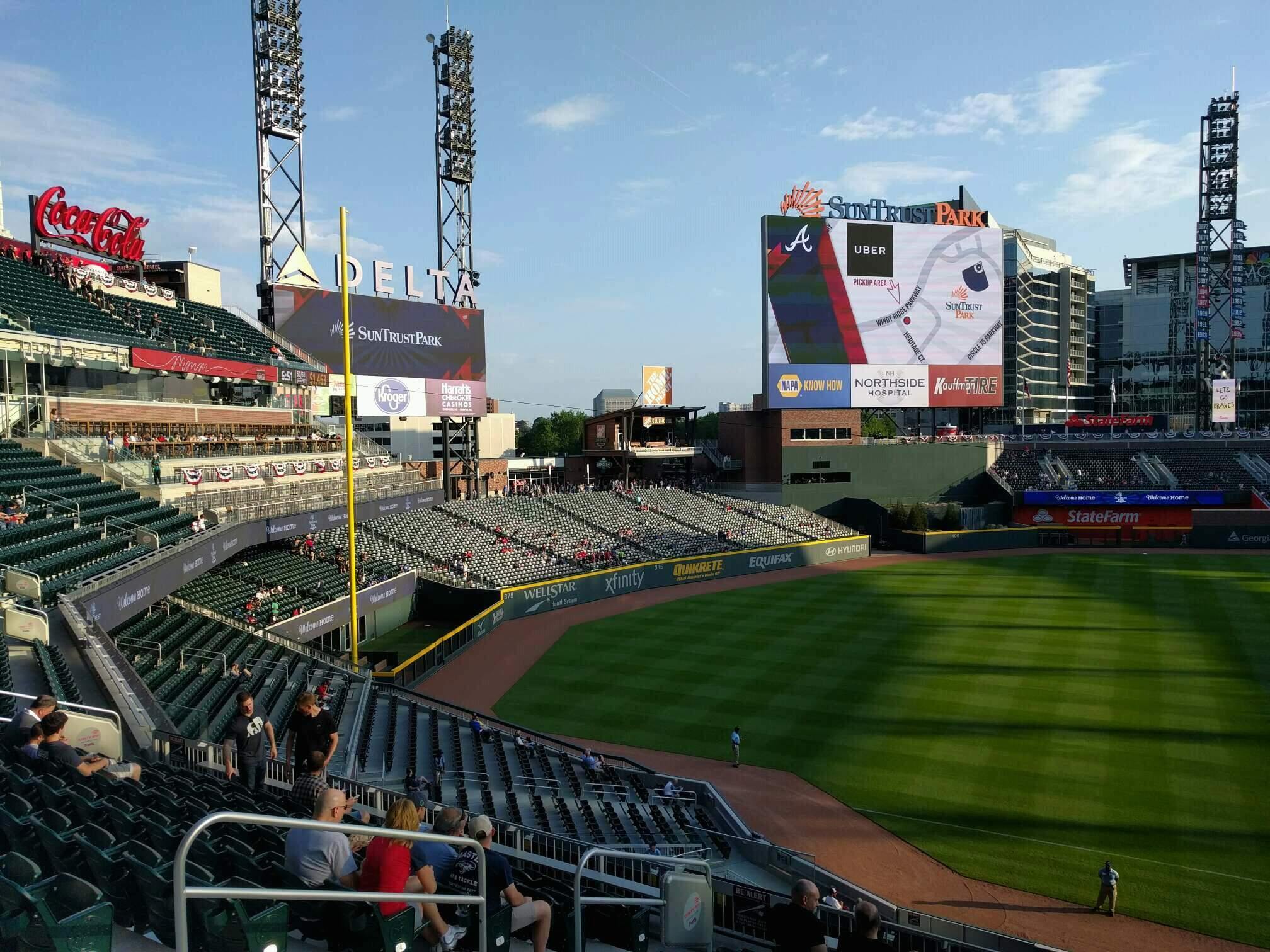 Truist Park Section 238 Row 9 Seat 12