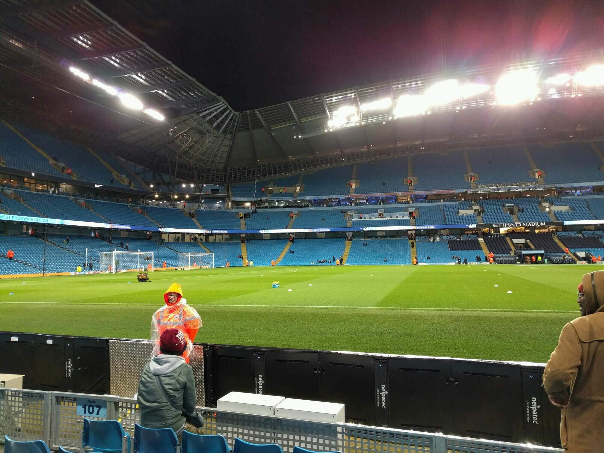 Etihad Stadium (Manchester) Section 106 Row c Seat 149