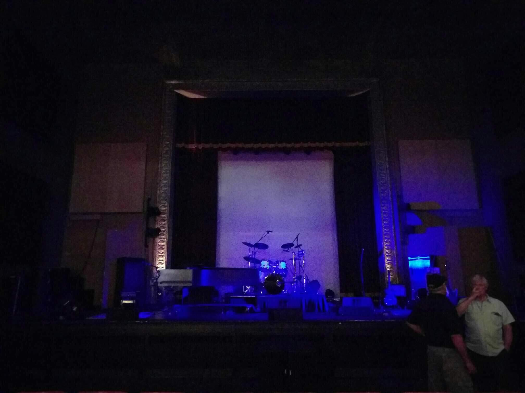 The Mauch Chunk Opera House Section Floor center Row f Seat 11