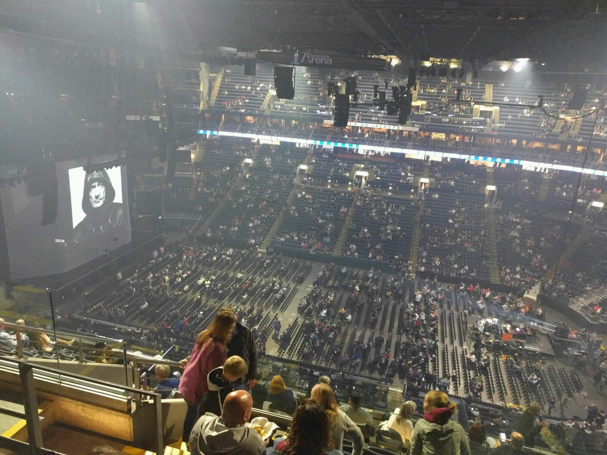 Nationwide Arena Section 216 Row l Seat 18