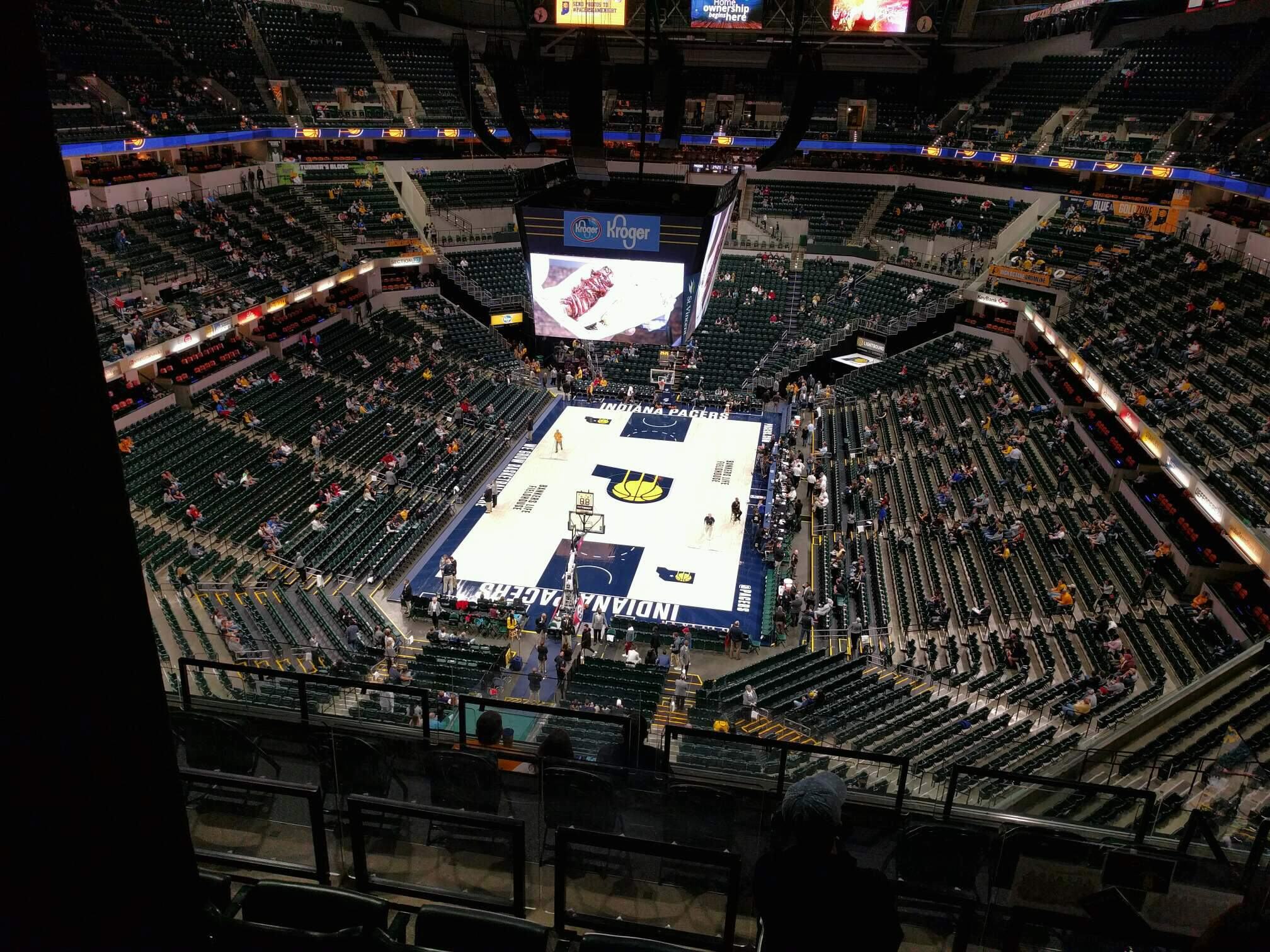 Bankers Life Fieldhouse Section 216 Row 8 Seat 8