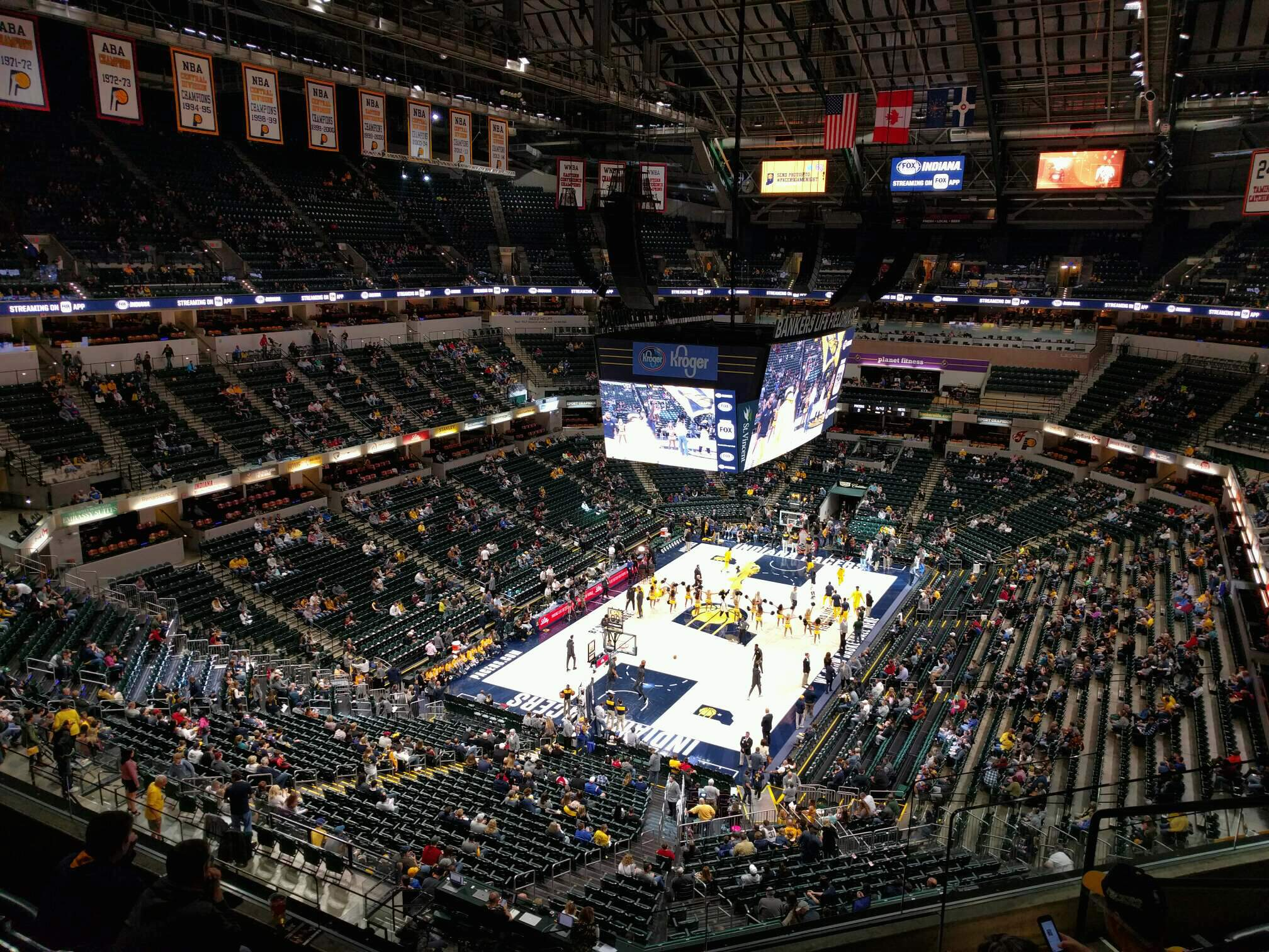 Bankers Life Fieldhouse Section 230 Row 6 Seat 6