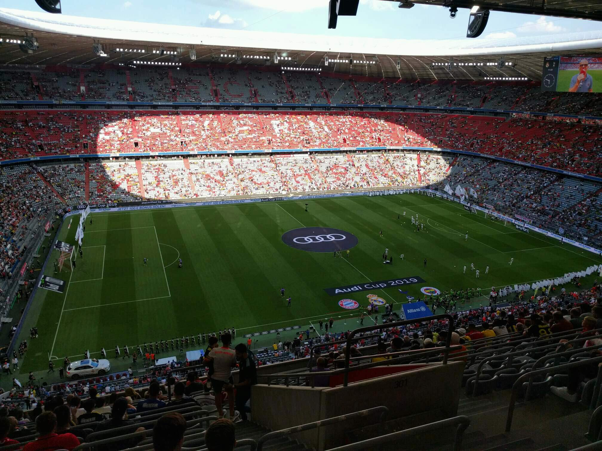 Allianz Arena Section 301 Row 15 Seat 11