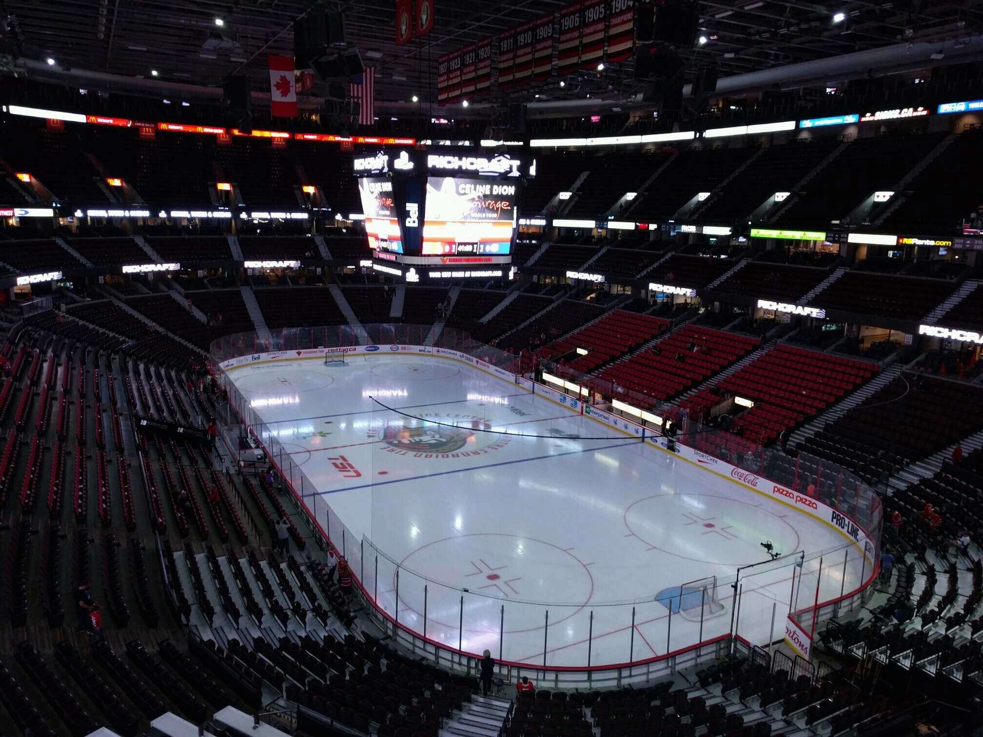 Canadian Tire Centre Section 317 Row b Seat 7