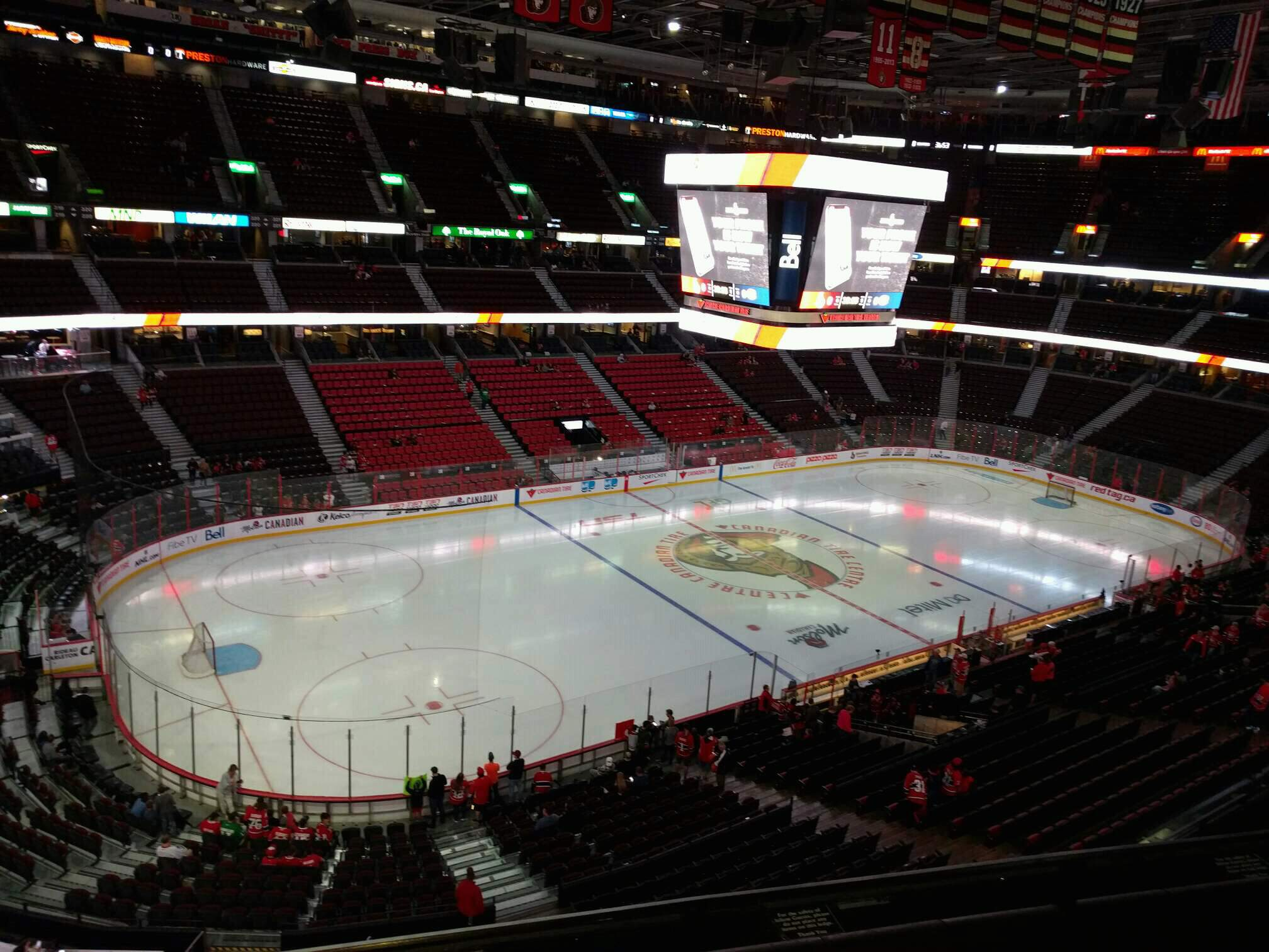 Canadian Tire Centre Section 311 Row c Seat 7