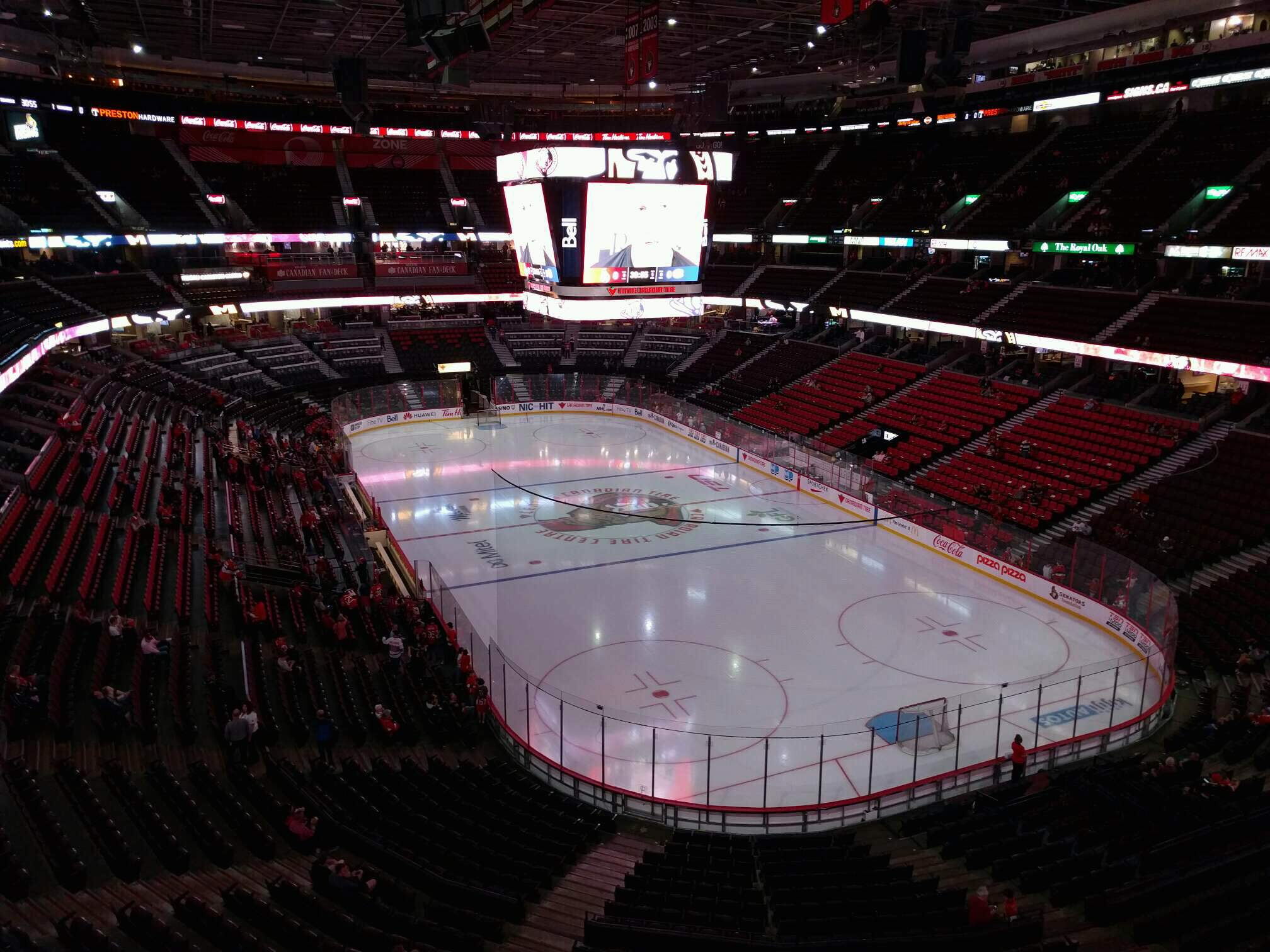 Canadian Tire Centre Section 303 Row b Seat 3
