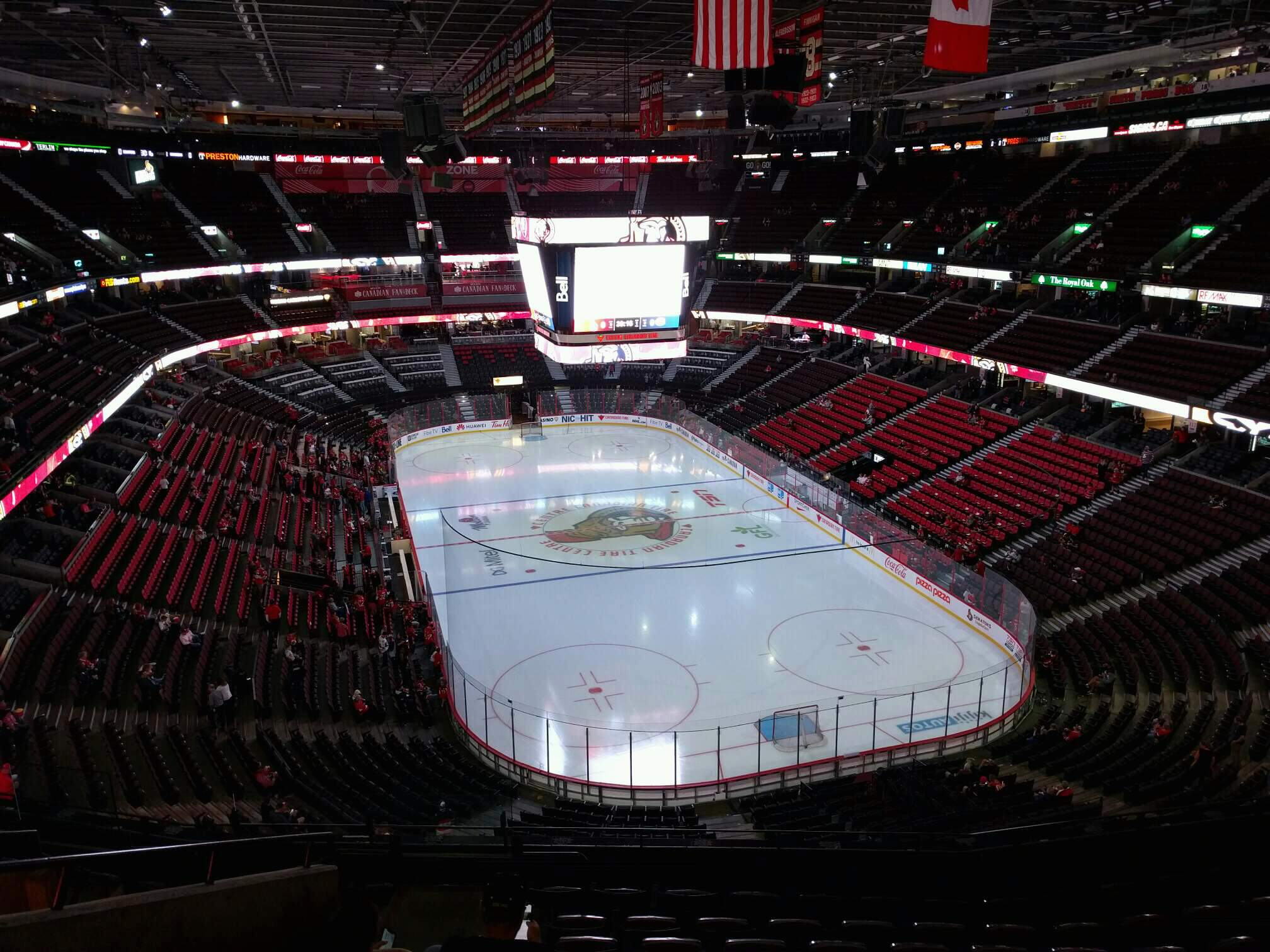 Canadian Tire Centre Section 302 Row j Seat 21