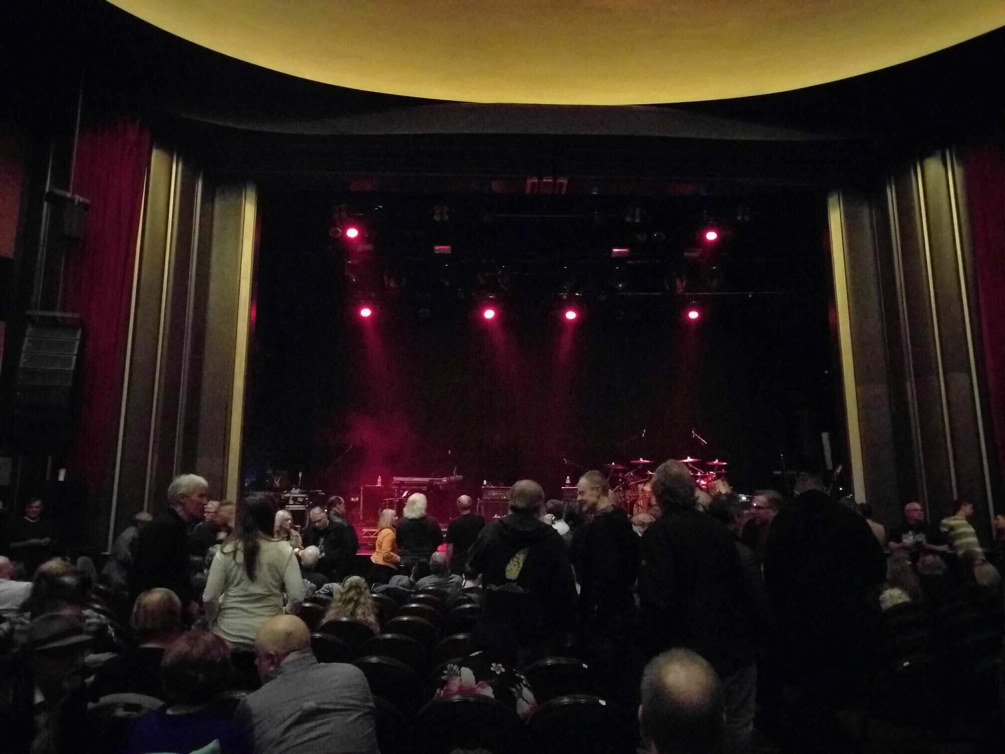 Vogue Theatre Section Orchestra Row 13 Seat 17
