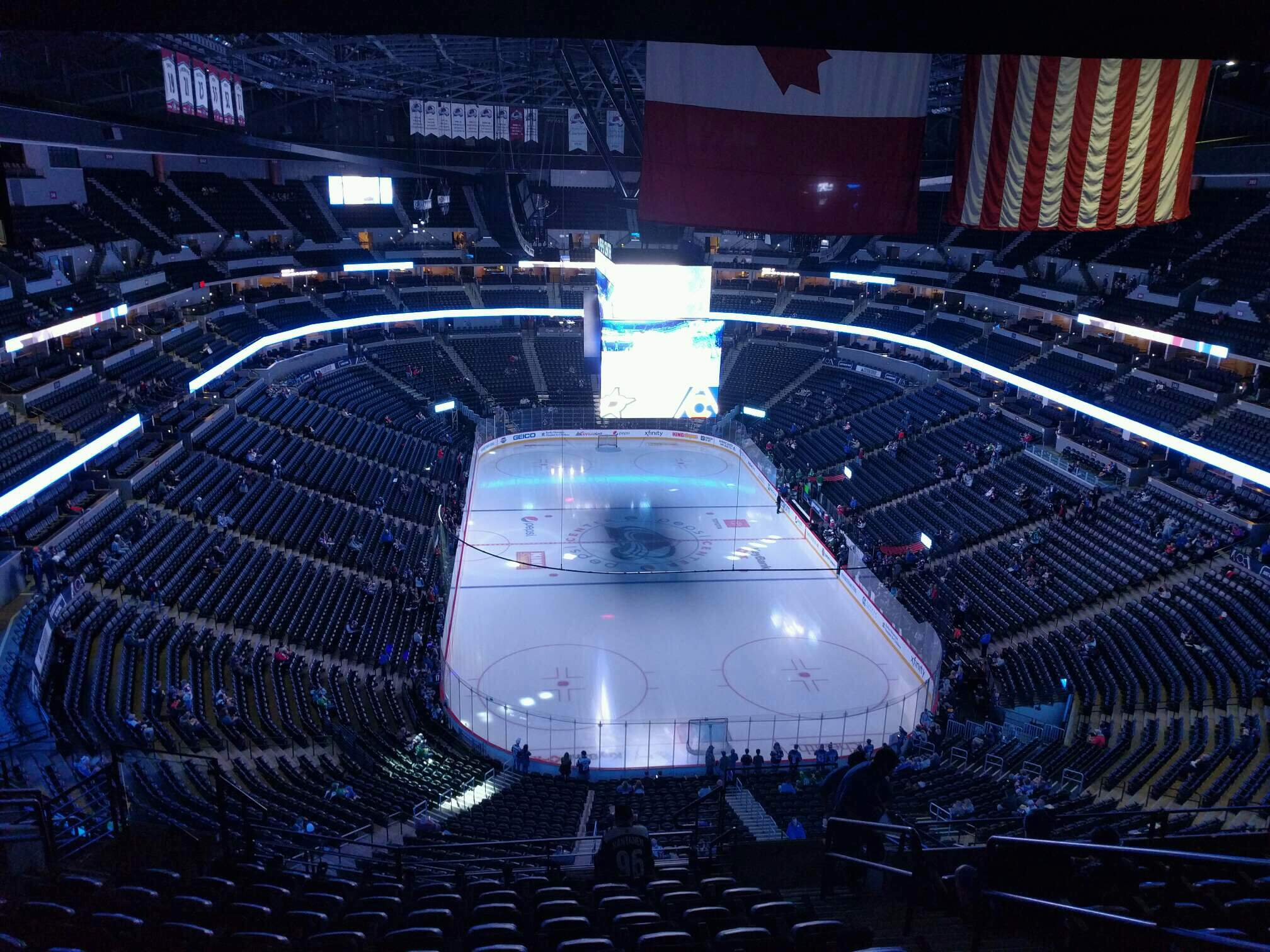 Ball Arena Section 324 Row 14 Seat 5