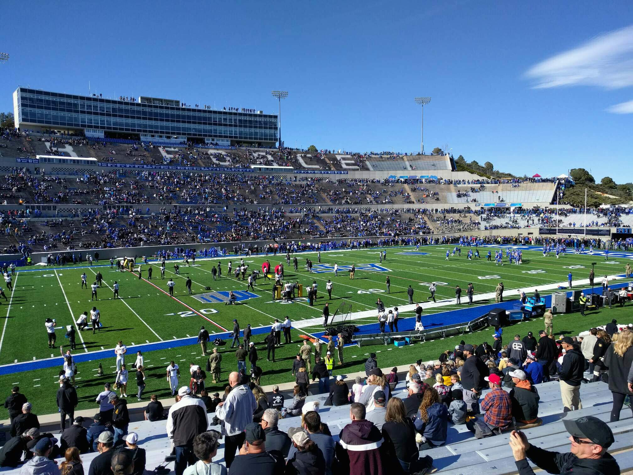 Falcon Stadium Section L24 Row bb Seat 26