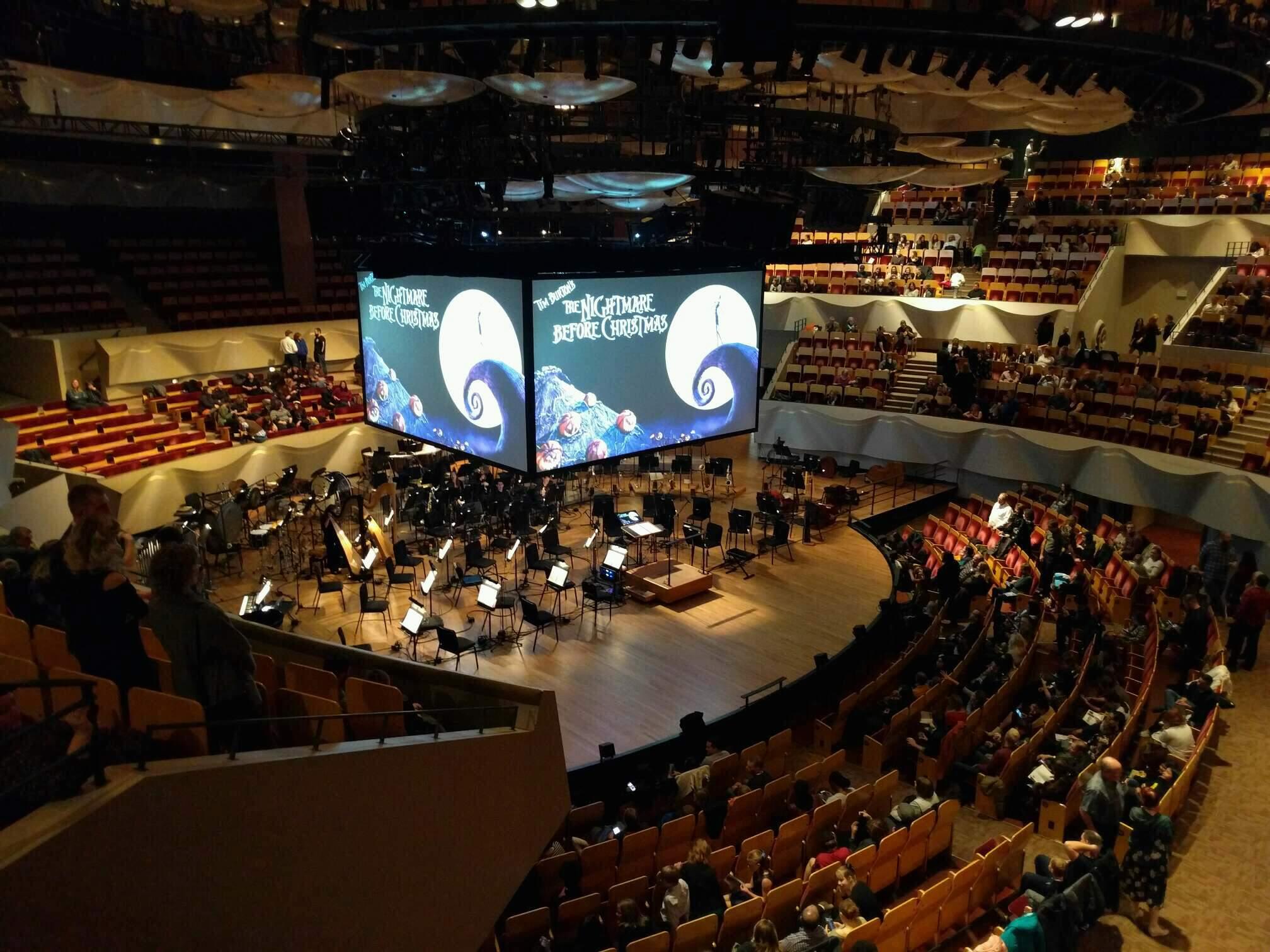 Boettcher Concert Hall Section Mezzanine 6 Row k Seat 63