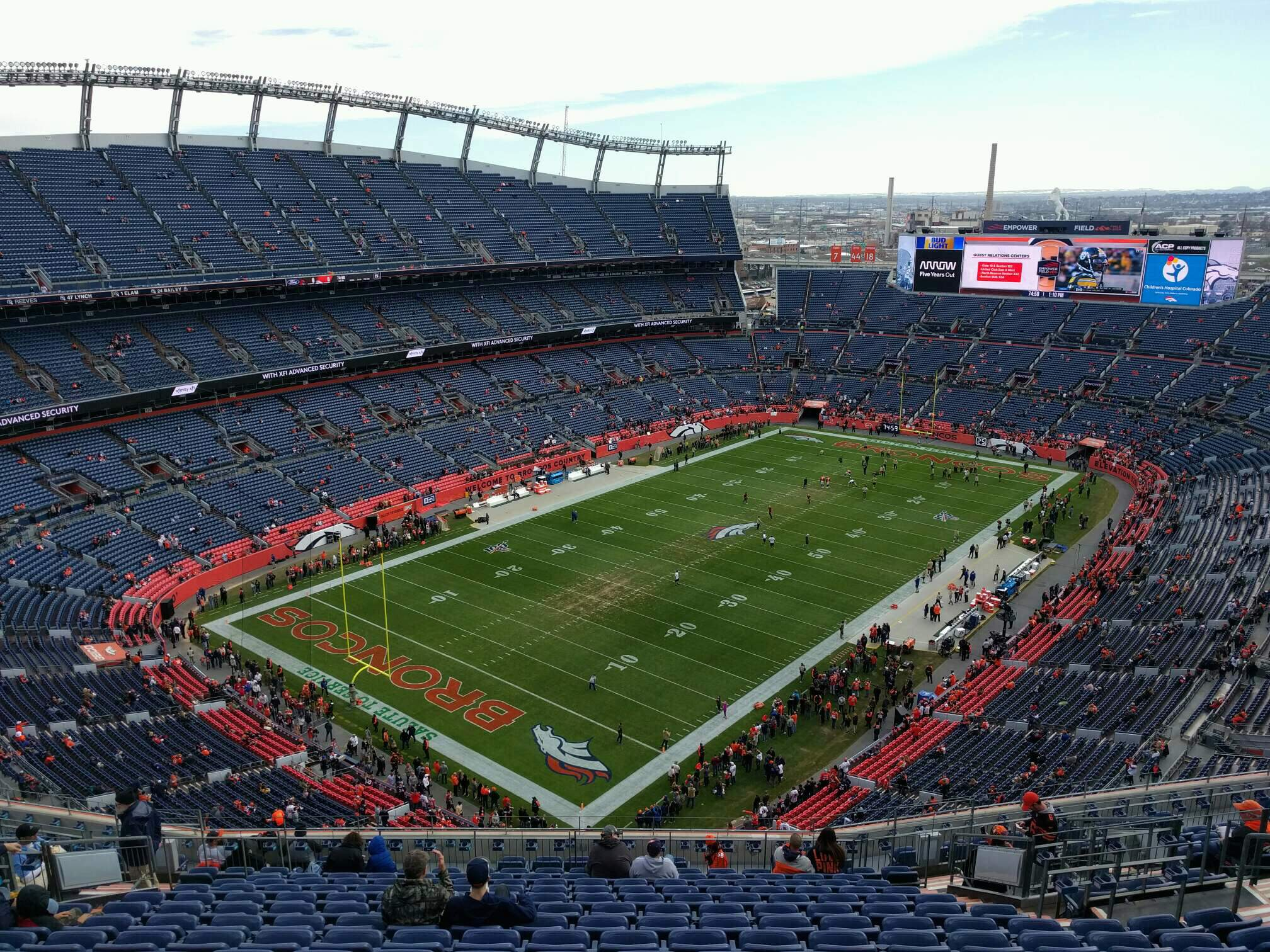 Empower Field at Mile High Stadium Section 516 Row 18 Seat 13