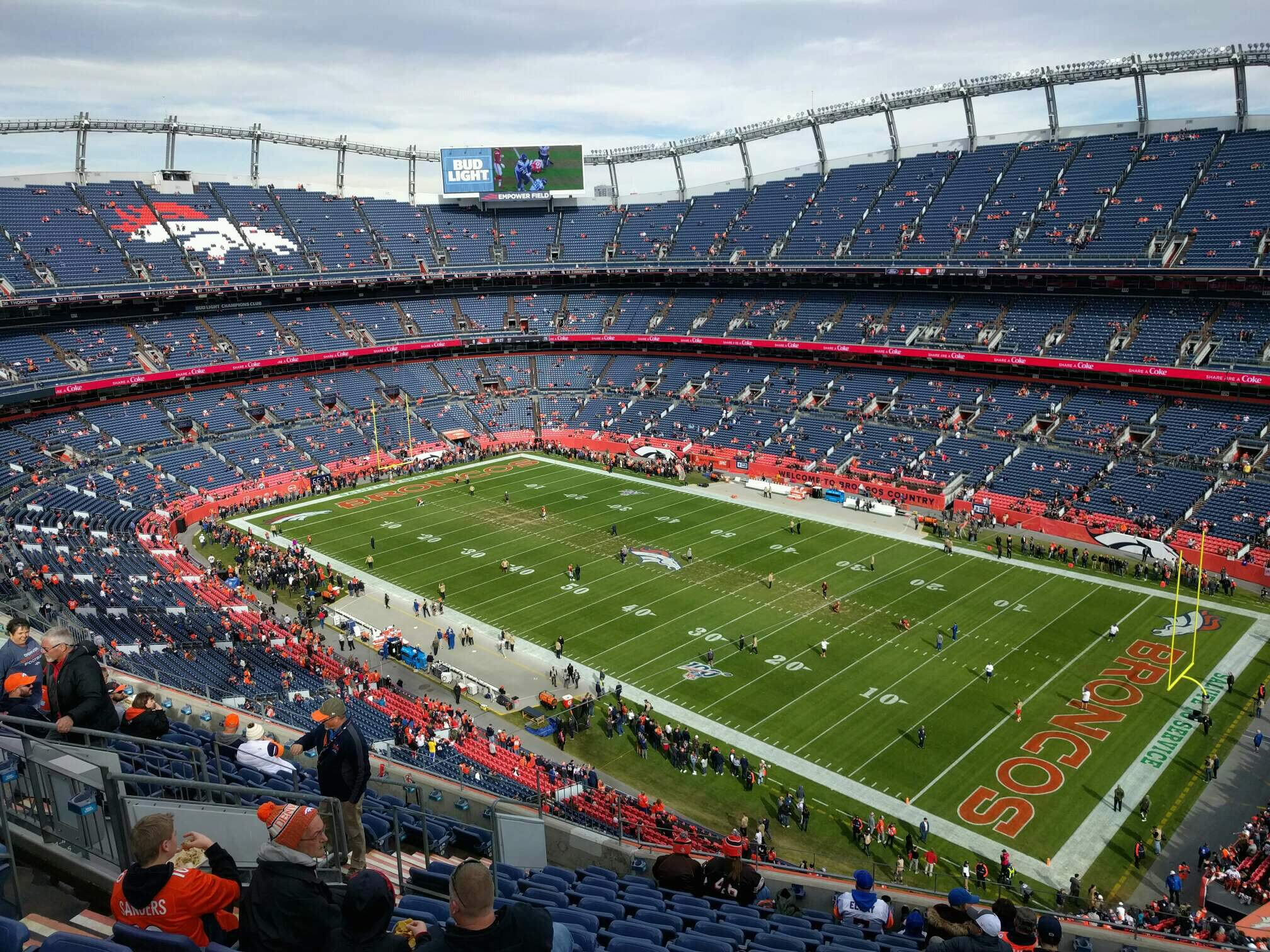 Empower Field at Mile High Stadium Section 502 Row 12 Seat 13