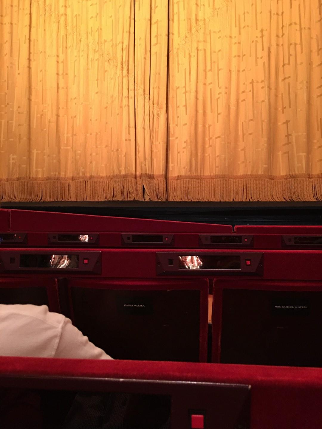 Metropolitan Opera House - Lincoln Center Section Orch Row C Seat 112