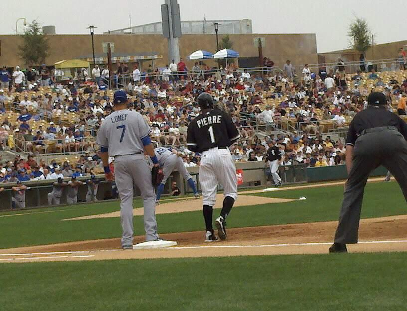 Camelback Ranch Section 5 Row 1 Seat 8