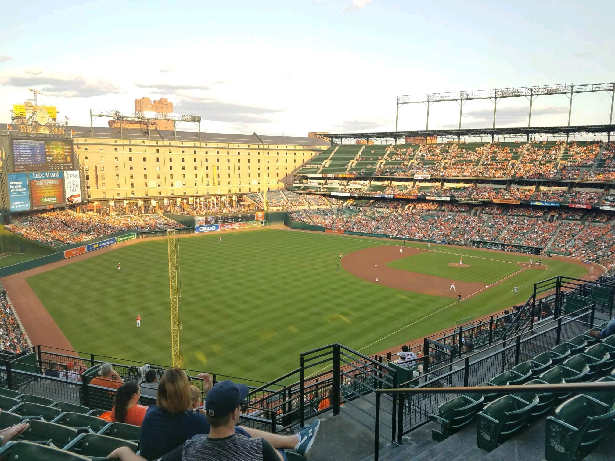 Oriole Park at Camden Yards Section 374 Row 14 Seat 2