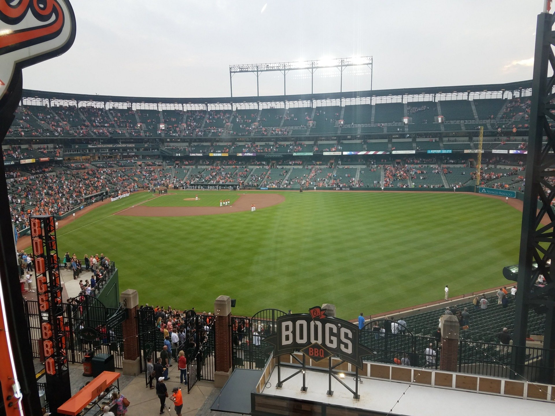 Oriole Park at Camden Yards Section B & O Warehouse